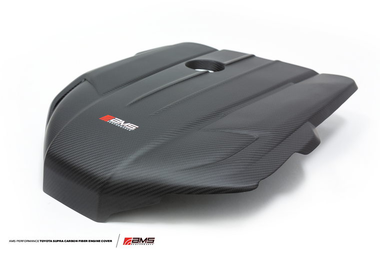 AMS Performance 2020+ Toyota GR Supra Carbon Fiber Engine Cover