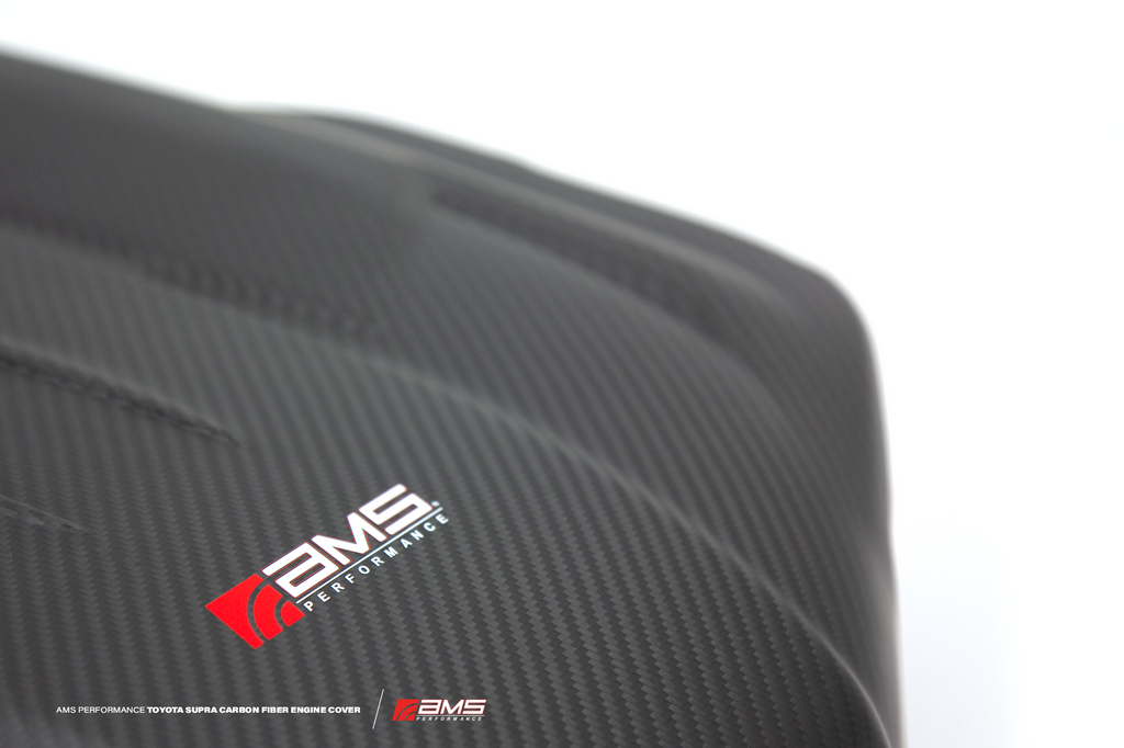 ams performance AMS Performance 2020+ Toyota GR Supra Carbon Fiber Engine Cover