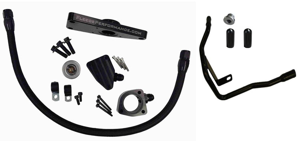 Cummins Coolant Bypass Kit 2006-2007 Auto Trans Fleece Performance