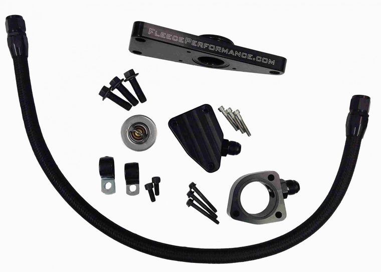 Cummins Coolant Bypass Kit 2003-2007 Manual Transmission Fleece Performance