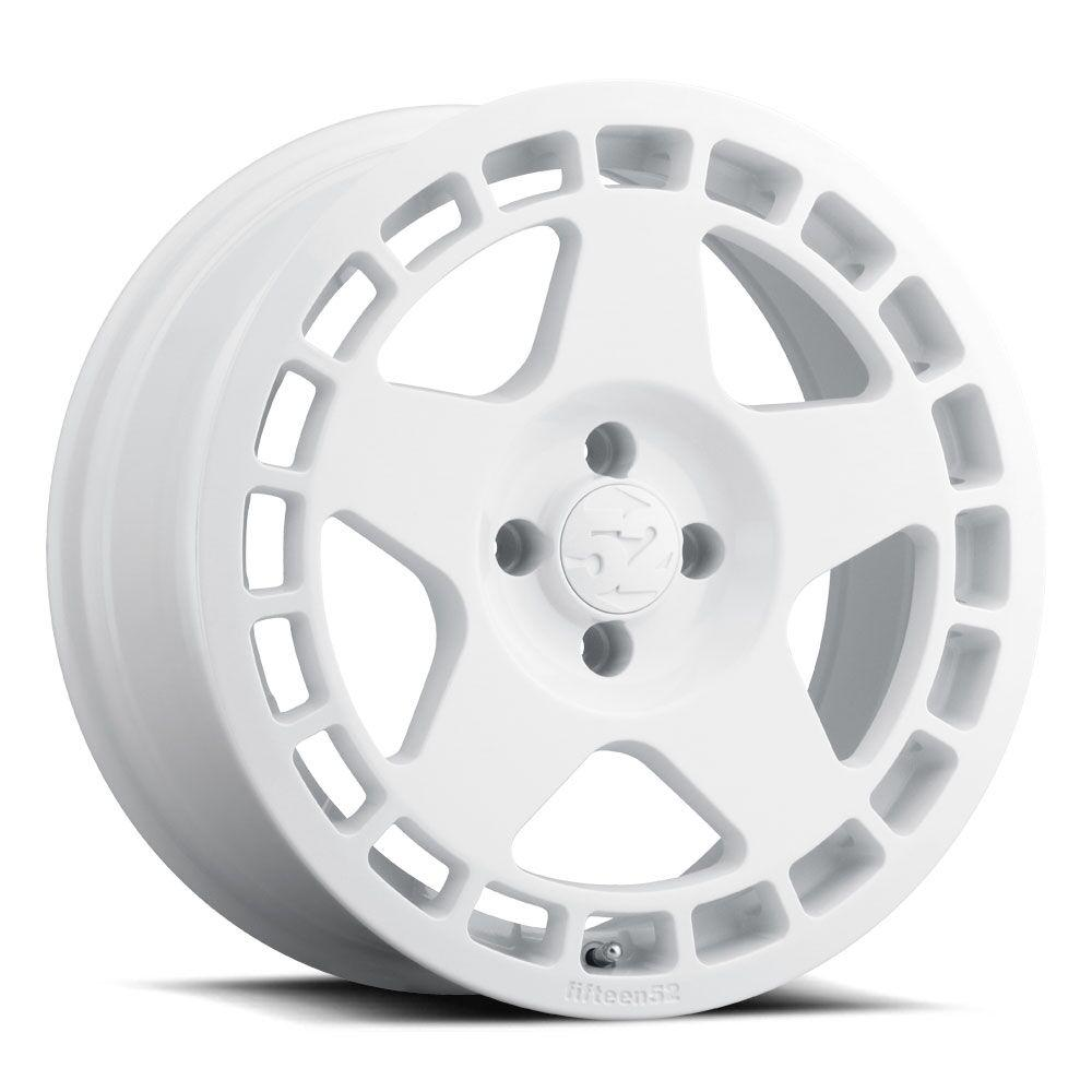 TURBOMAC 17X7.5 ET42 4H108 RALLY WHITE 63.4