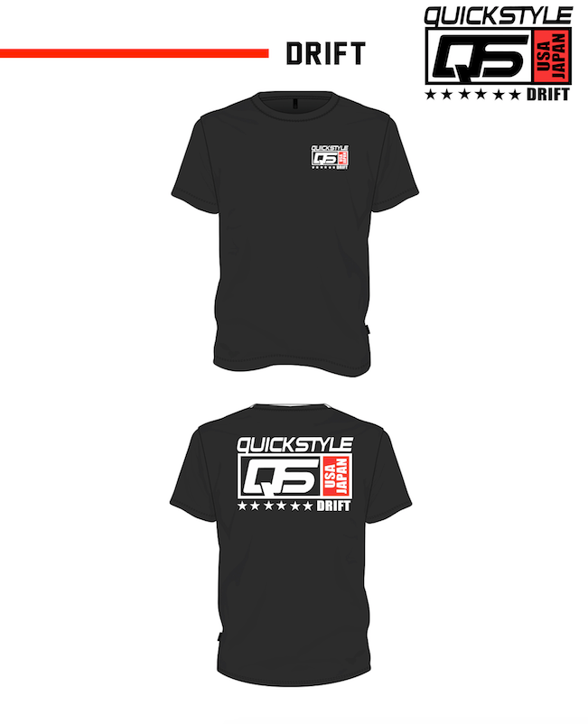quickstyle drift, quickstyle drift soukoukai, quickstyle motorsports, drift apparel, drift t-shirt, Japan t-shirt, formula drift