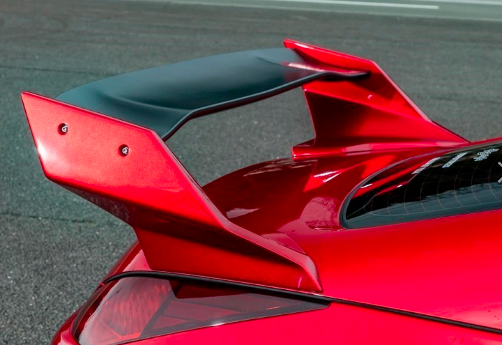 Spirit Rei 350Z High mount rear wing