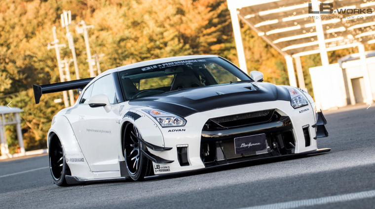 LB-WORKS NISSAN GT-R R35 type 2