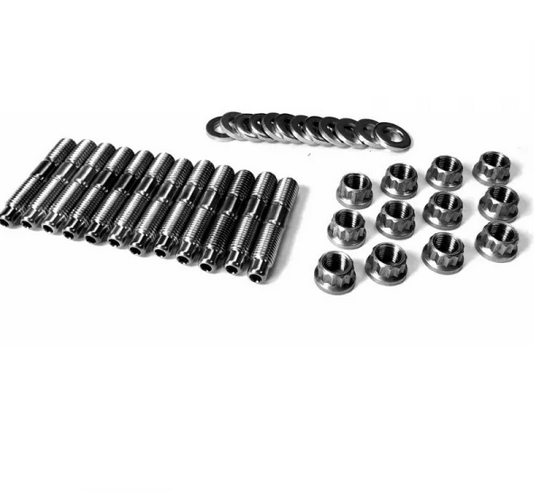Fleece Performance 94-18 Dodge Cummins 2500-3500 Exhaust Manifold Stud Kit - 4mm Allen Socket Head