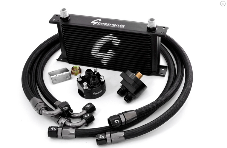 Universal Performance Oil Cooler Kit + Filter Relocation