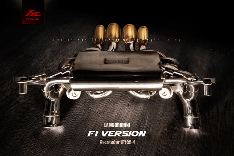 FI Exhaust Aventador LP700-4 2011+ (Ultimate F1 Sounding Version)