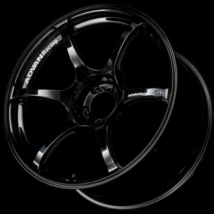 Advan RGIII 18x9.0 +35 5-114.3 Racing Gloss Black Wheel