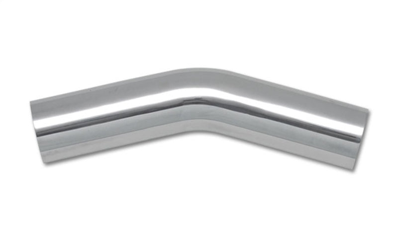 Vibrant 3in O.D. Universal Aluminum Tubing (30 degree Bend) - Polished