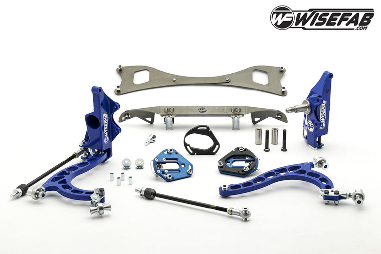 NISSAN S-CHASSIS LOCK KIT WITH RACK RELOCATION KIT FOR S14/15 HUBS
