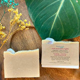 Artisanal Soap with Crystal by Sephirah - Pink Botswana Agate
