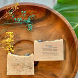 Artisanal Soap with Crystals by Sephirah - Tourmanilated Quartz