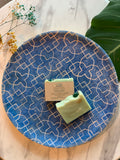 Artisanal Soap with Crystals by Sephirah - Malachite