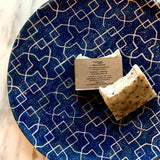 Artisanal Soap with Crystals by Sephirah - Blue Calcite