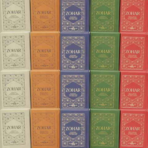 NEW MINI ZOHAR - 5 BOOKS SET (ARAMAIC, HARDCOVER)