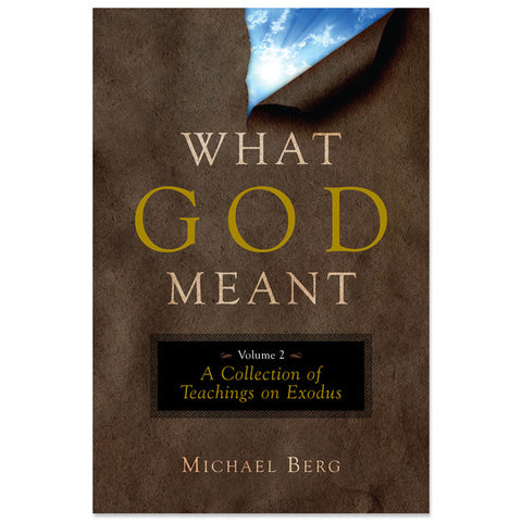 What God Meant, Vol. 2: A Collection of Teachings on Exodus