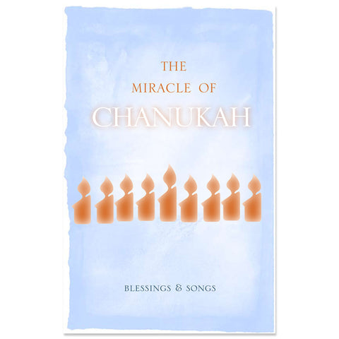 Chanukah Song and Blessings Booklet