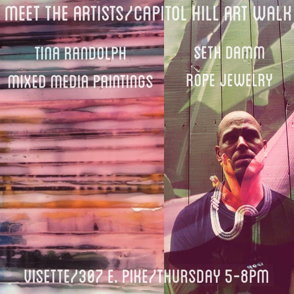 Capitol Hill Art Walk // September 14, 5-8 pm