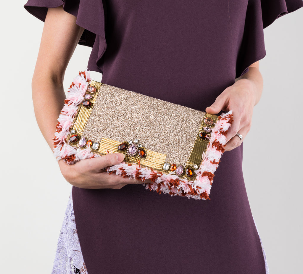 Diego Binetti clutch at Visette Boutique
