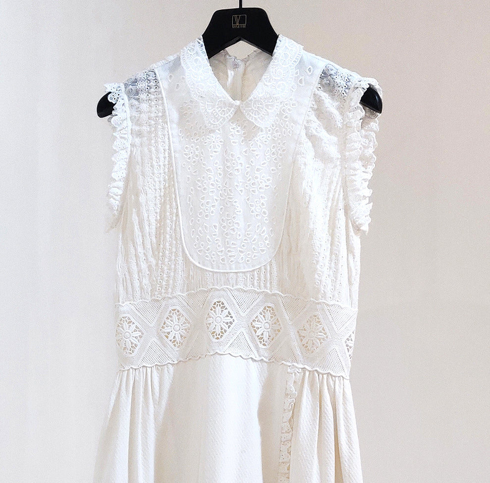 Love Binetti Cotton Eyelet Dress