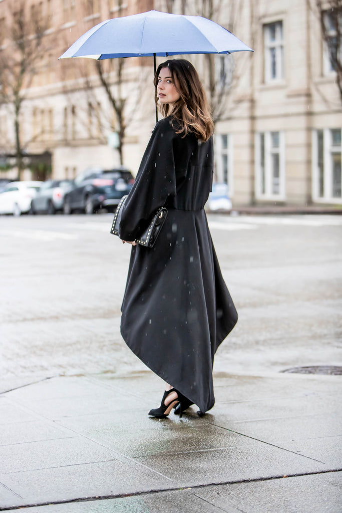 Ozlem Suer High-Low Coat