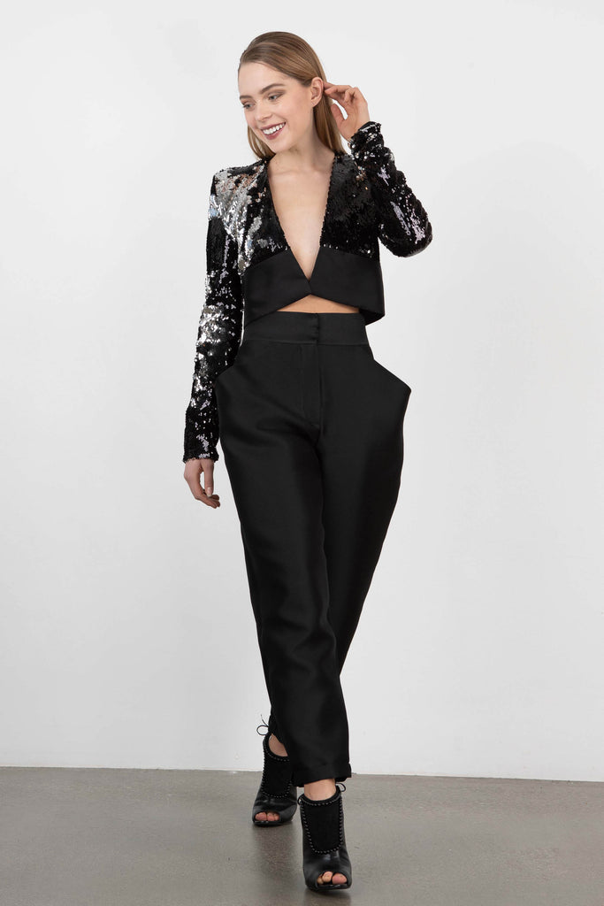 Tegin High Waisted Blouson Pant