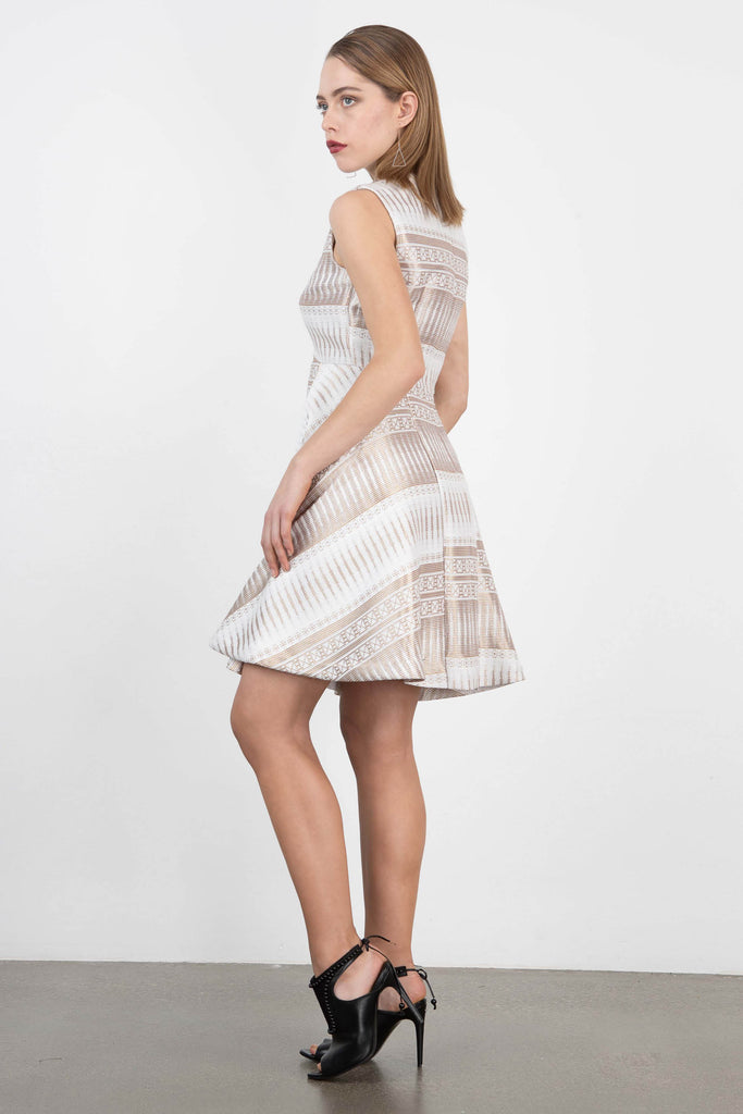 Marta Cucciniello Brocade Dress