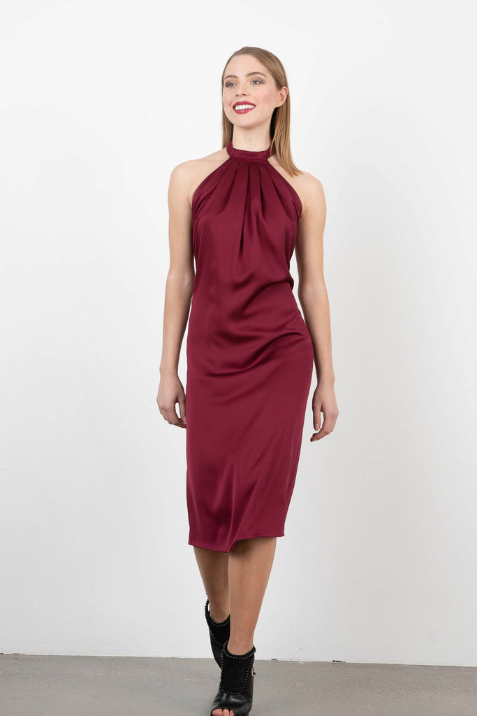 Dilek Hanif Halter Shift Dress