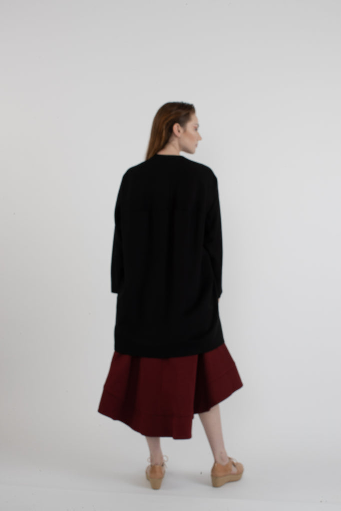 Ozlem Suer Hook & Eye Coat