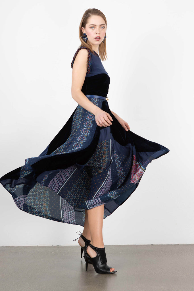 Love Binetti 'Pink Floyd' Patchwork Dress