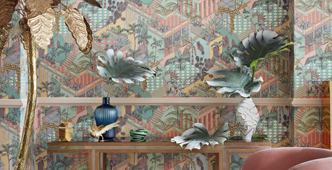 cole & son Miami wallpaper