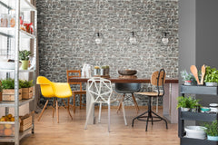Distressed Stone Wall