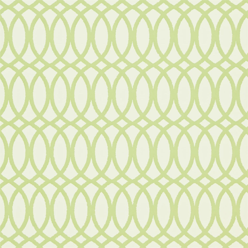 Erin Lime Green Trellis