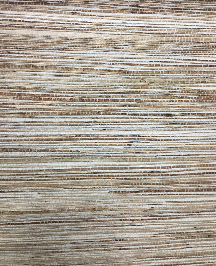 Grasscloth Pacific White Fire