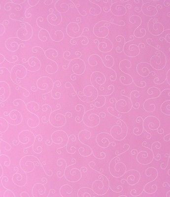 Wallpaper Bright Funky Kids Girls Hot Pink white Swirls