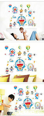 Doraemon Anime Wall Sticker Decal Children Kids Room Baby Nursery