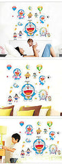 Doraemon Anime Removeable Wall Sticker Decal Children Kids Room Baby Nursery