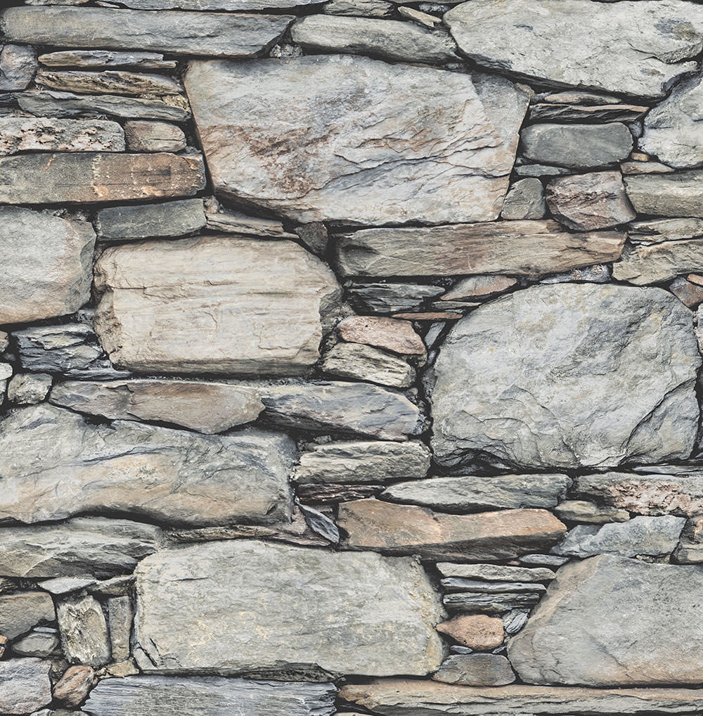 Large Realistic Rock Stackstone Wallpaper