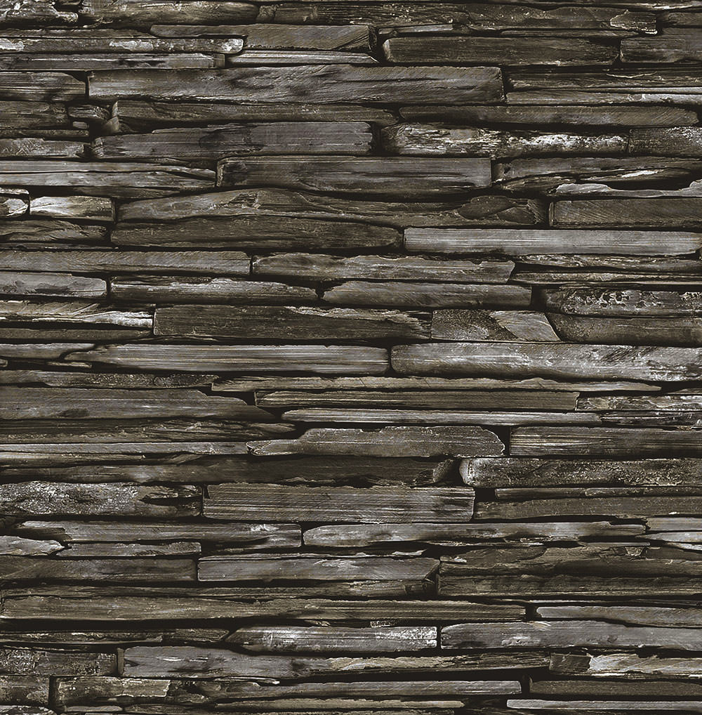 Rocky Stackstone Tile Wallpaper