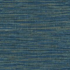 Deep Sea Blue Teal Faux Grasscloth