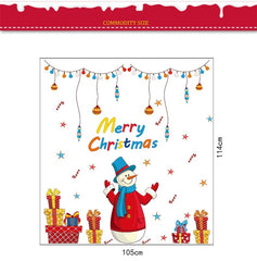 Snowman Christmas Wall Sticker