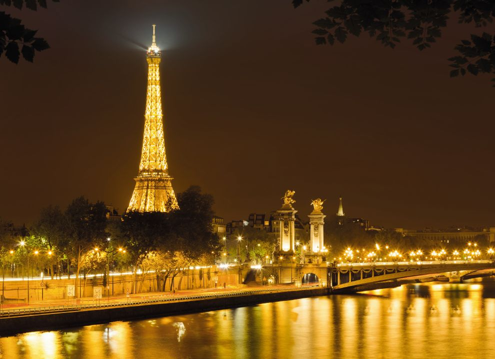 Golden Night in Paris