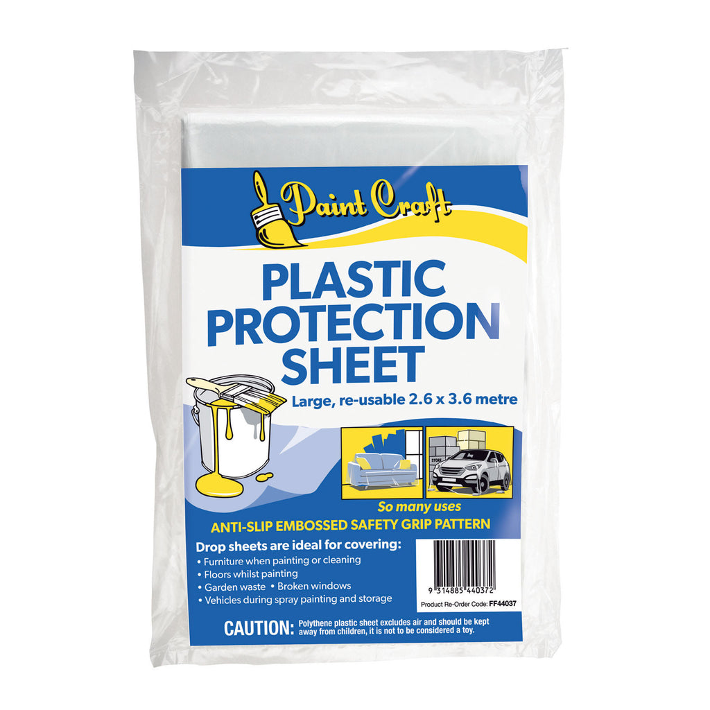 Paint Craft Plastic Protection Sheet