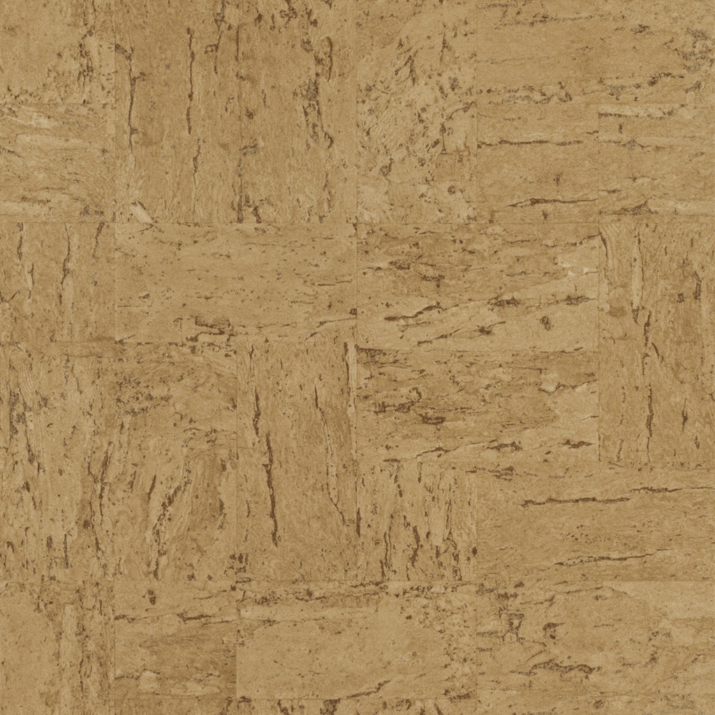 Textured Industrial Faux Cork Wallpaper Panels