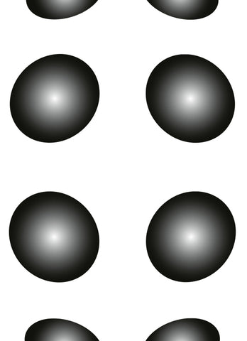 3D Black White Dots