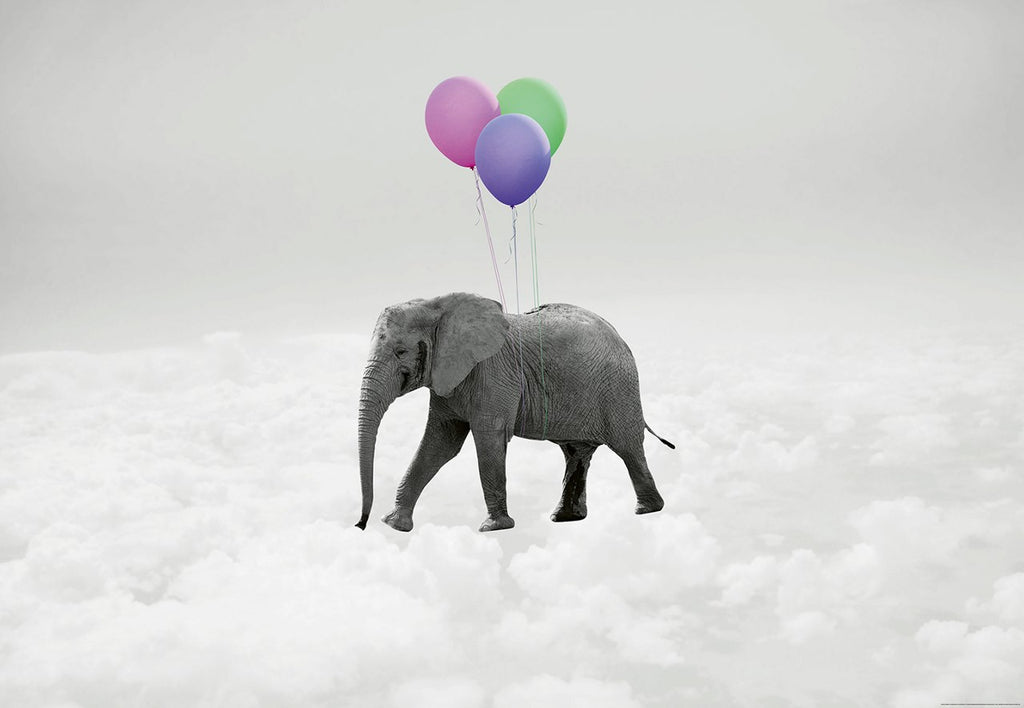 Balloon Floating Elephant