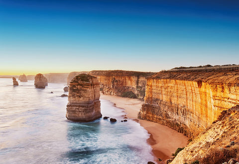 12 Apostles Cliff Sunset