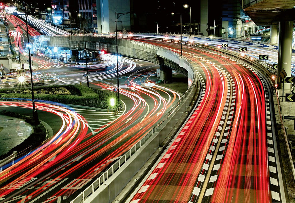 Time-lapse photography Night Traffic