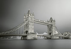 Black White London Bridge