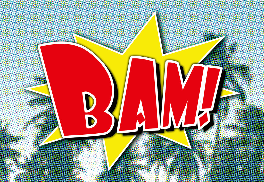 Bam Comic Pop Art